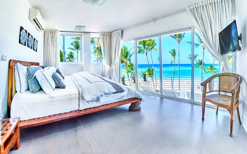 Oceanfront apartment in Punta Cana